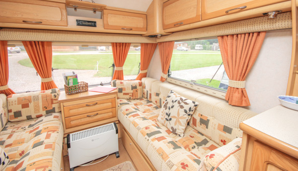 Inside Our Holiday Caravan In Malvern