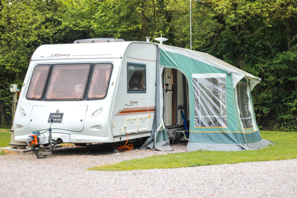 Holiday Caravan In Malvern