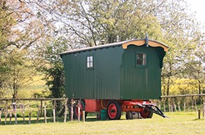 The Fmily Shepherds Hut - A great glamping malvern experience