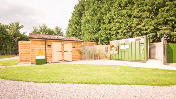 Shower Block for Malvern Holiday park Glamping Users