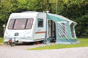 Classic Caravan For Rental - Malvern Accomodation at Malvern Glamping Park