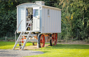 Fowler Ploughing Van, A Unique Glamping Experience